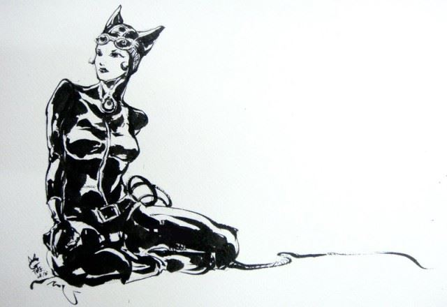 black_and_white____catwoman_by_agathexu-d53a58y