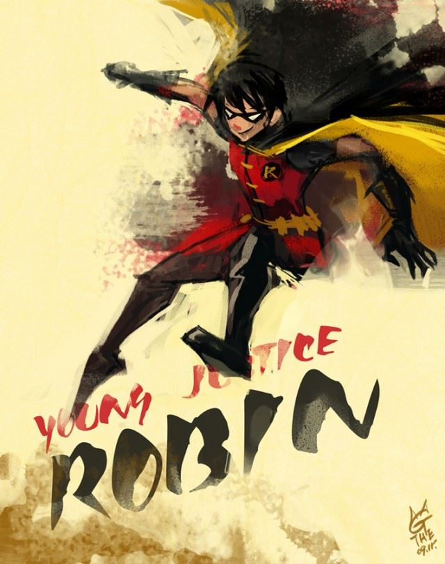 young_justice_robin_by_agathexu-d4b8zcj