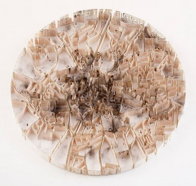Paper-Sculptures-Map