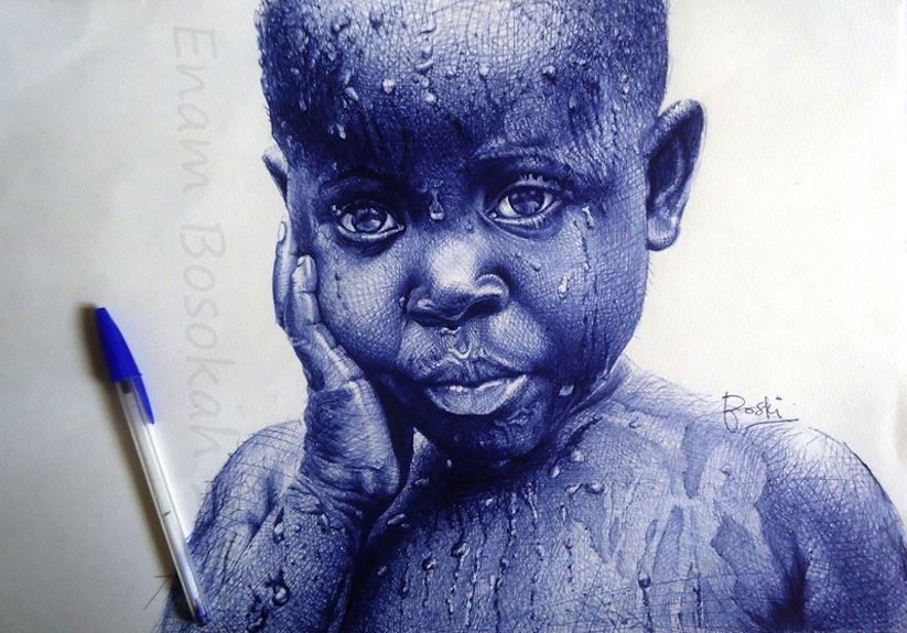 Photorealistic_Portraits_Created_With_Simple_Ball_Point_Pens_by_African_Artist_Enam_Bosokah_2015_01