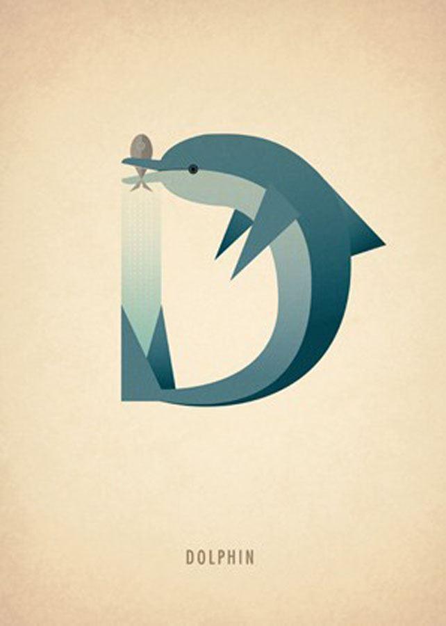 I Letter Design Wallpaper