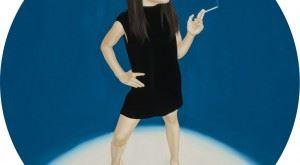 吳逸寒Yih-Han WU_菸the smoke_30x30cm_油彩、畫布Oil on Canvas_2015
