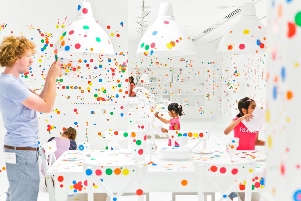 'Yayoi Kusama: Look Now, See Forever' exhibition view GoMA
