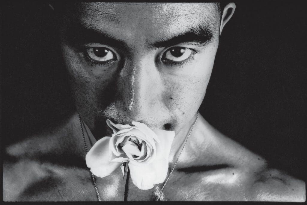 細江 英公_薔薇刑#32_Eikoh HOSO_Barakei_ Ordeal by Roses#32_ Gelatin silver print_27.9× 35.5cm_1961(YOD Gallery)