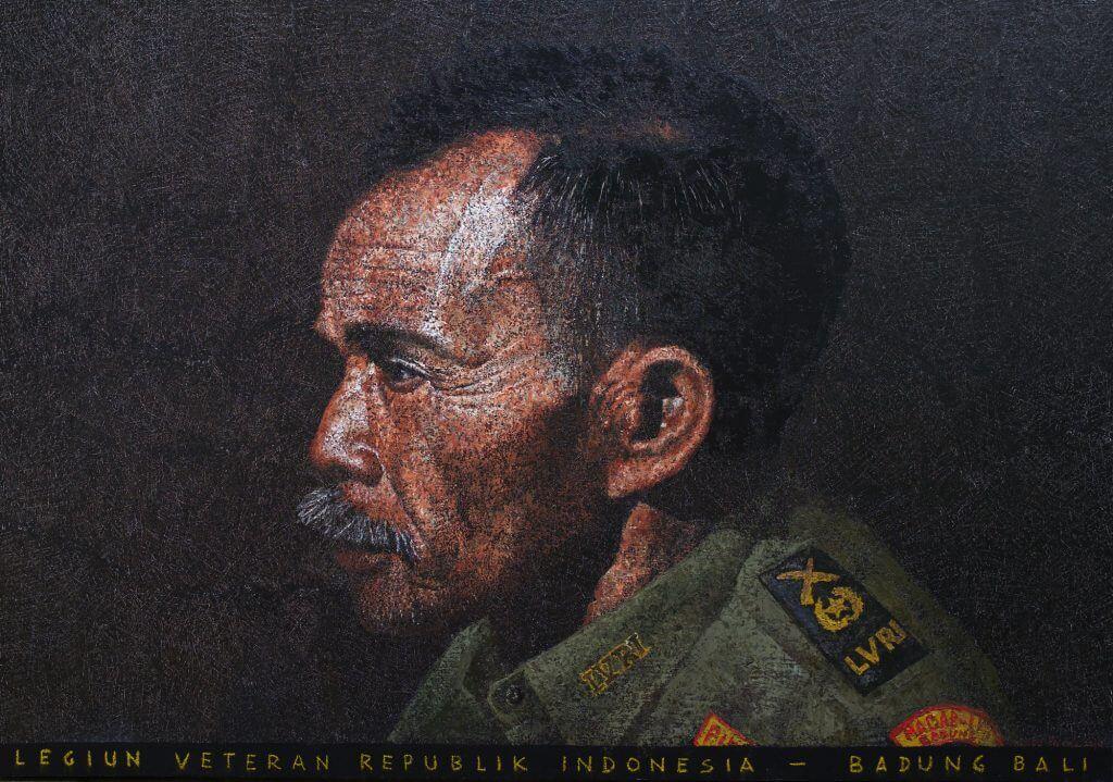 Agung mangu putra_ LEGIUN VETERAN #2_ acrylic and oil on canvas_ 165 x 115 cm_2016(TONYRAKA Art Gallery)