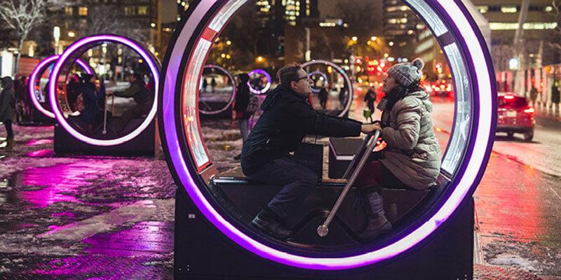 加拿大蒙特婁燈光節