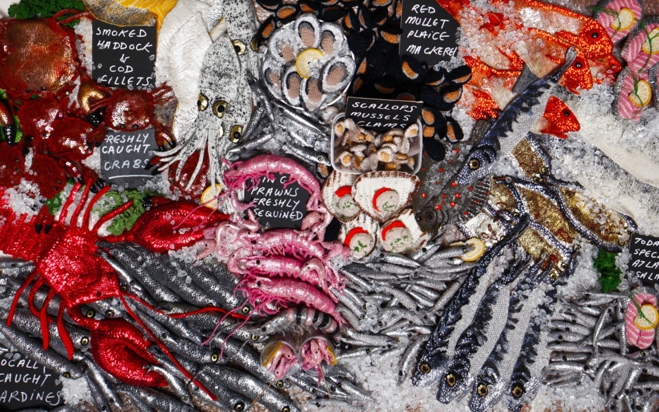 編織擬真海鮮