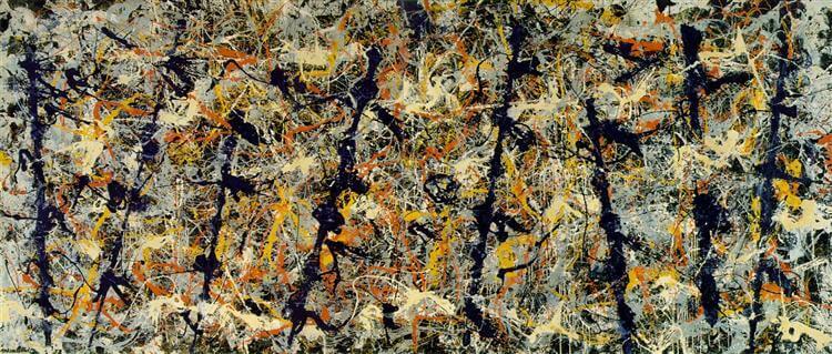神祕學觀藝術波洛克抽象畫