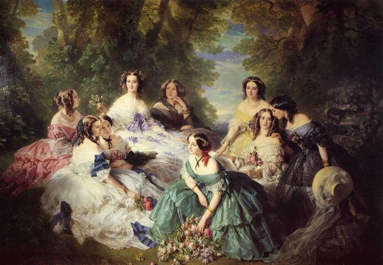 古典繪畫,女性,肖像畫,繪畫,藝術,油畫,解構,現代,Eewa Juszkiewicz